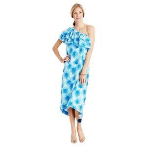 Vineyard Vines Palm One Shoulder High-Low Dress